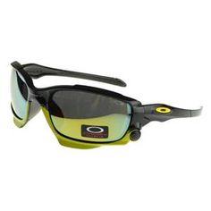 Oakley Monster Dog Sunglasses black Frame yellow Lens Outlet : Cheap Oakley  Sunglasses$18.91