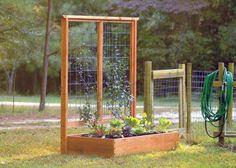 Diy Raised Garden Beds On Concrete up Mediterranean Garden Landscaping Ideas lik… - Modern Cheap Raised Garden Beds, Easy Garden, Raised Beds, Garden Tips, Raised Patio, Raised Gardens, Garden Fun, Garden Boxes, Mediterranean Garden