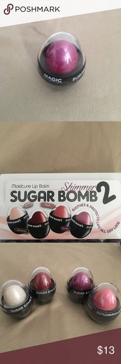 SUGAR Bomb 2 MOISTURE LIP BALM Smooth & Protects lips all day long SUGAR BOMB 2 tinted lip balm in ORCHID!! BRAND NEW FACTORY SEALED!! SUGAR BAMB 2 Makeup Lip Balm & Gloss