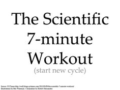 Study behind this workout suggest 2-3 repeats (7min) - Imgur