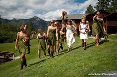 Where would a bride be without her best gal/s by her side? Enjoy these photos of some beautiful brides with her bridesmaids from weddings at The Twin Owls Steakhouse in Estes Park, Colorado!