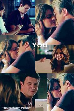 I honestly think that was my favorite scene from the episode! So sweet! Castle Tv Series, Castle Tv Shows, Castle Abc, Nathan Fillon, I Only Want You, Castle Beckett, Stana Katic, Best Series, Getting Old