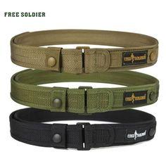 Outdoor Sport Tactical Belt For Camping Hiking Climbing,Molle Belt For Men's Inches Nylon Belt Nylons, Military Belt, Tactical Belt, Tactical Knife, Duty Gear, Escalade, Tac Gear, Belt Pouch, Edc Belt