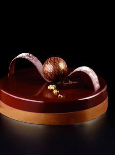 Chocolate tart by Iginio Massari
