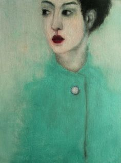 """Saatchi Online Artist corinna wagner; Painting, """"wenn du gehst."""" #art"""