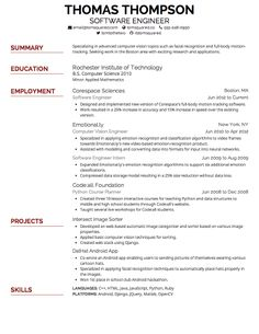 resume fonts resume font tips resume cv resume free resume fonts font size - Free Resume Fonts