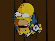 The Simpsons -Treehouse of Horror Simpsons Halloween, Halloween Art, Holiday Wallpaper, Halloween Wallpaper, Simpsons Episodes, Simpsons Treehouse Of Horror, Simpsons Drawings, Horror House, 90s Cartoons