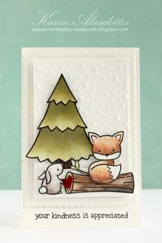 SSS Wednesday Challenge Blog - Simon Says: Create With Critters | card by guest designer Karin
