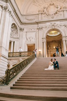 Caitlin and David's San Francisco City Hall Wedding - Simone Anne ...