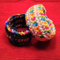 Snake Belly Rainbow Loom Bracelet van JnJsCraftyBoutique op Etsy