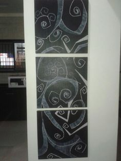 Itz an awsm painting ....made by me & dis painting is canvas painting ....
