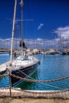 Sailboat – Velero, Lanzarote HDR