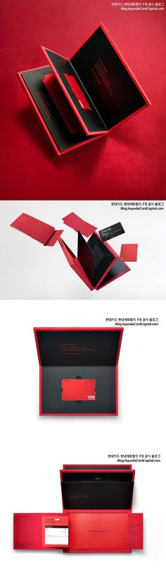 Hyundai Card the Red Package Renewal Project on Behance: