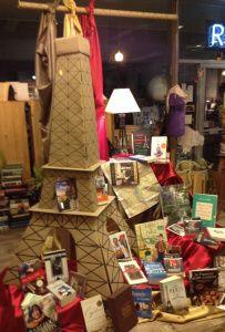 Eiffel Tower Display | Main Street Books | Frostburg, MD