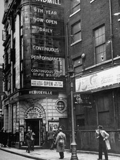 The Windmill Theatre, Soho, 1940
