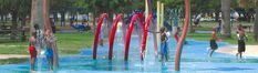Houston Parks and Recreation Department's water spraygrounds