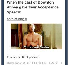 It was so disappointing since Merlin had just ended... It deserved it, as well!