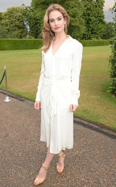Simple and Chic: Lily James' Best Looks