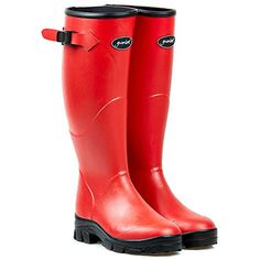 Gumleaf Ladies Red Norse Welly Boot >>> Click image for more details. (This is an affiliate link) #Outdoor