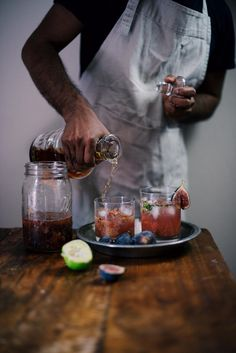 fig and bourbon summer smash   A Brown Table