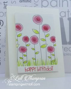 card making ideas techniques Hi everyone. We are already more than half way through the month of March, which means its time for a reminder post for the CAS Watercol. Watercolor Birthday Cards, Watercolor Cards, Watercolour, Paint Cards, Stamp Making, Diy Cards, Doodle Art, Homemade Cards, Envelopes