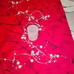 #Marimekko #Lumimarja #punainen kattaus #Yule  #feast goes on