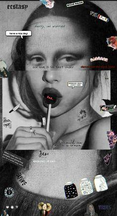 Sassy Wallpaper, Retro Wallpaper Iphone, Bad Girl Wallpaper, Hippie Wallpaper, Iphone Wallpaper Tumblr Aesthetic, Black Aesthetic Wallpaper, Disney Wallpaper, Galaxy Wallpaper, Aesthetic Wallpapers
