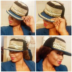 Unique hat available in different colors ..IF YOU HAVE ANY QUESTION OR WISH TO PLACE AN ORDER PLEASE CONTACT US ON  EMAIL:ngonsiusfashionoutlet@gmail.com SKYPE:ngonsius.jobius INSTAGRAM: ngonsiusfashionoutle