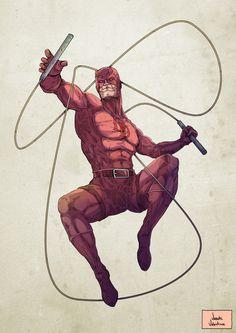 Vicente Valentine • - Daredevil Fan Art