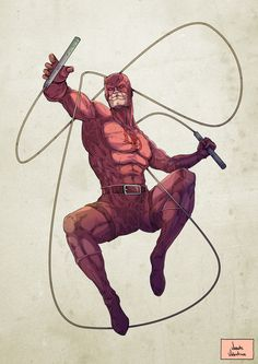 Vicente Valentine • - Daredevil Fan Art