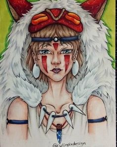 Here my final result of princess mononoke . A4 drawn with copics & fineliner . I really hope you like my version of mononoke . ( I will post maybe later a zoom in version. I wanted to post a group of photos but Instagram don't let me xD) . ~~~~~~~~~~~~~~~~~~~~~ #aac12kfeature #cutiepix #cutiepixdesign #ghibli  #art #fanart #ghibliart #mononoke #anime #manga #doodle #mononokehime #princessmononoke #prinzessinmononoke #workinprogress #draw #drawing #animeart #animedraw #animedrawing #animegirl… Manga Art, Anime Art, Cosplay, Ghibli, Tokyo Ghoul, A4, Art Drawings, Fanart, Doodles