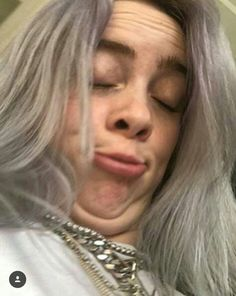 ~ ~ Billie Eilish - Knitting and crochet Knitting -You can find and more on our website ~ ~ Billie Eilish. Billie Eilish, Wattpad, Funny Faces, My Idol, Celebs, Queen, Models, My Love, People
