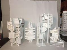 Bureau spectacular designs architecture model that doubles as cat
