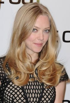 aveda+hair+styles+ | ... Aveda / Amanda Seyfried Long Hairstyle - Middle Part Layered Hairstyle