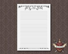 PRINTABLE DAILY PLANNER – Wizards Map theme – A5 & Half-Letter  • Undated Daily Planner • Wizards Map Divider • Notes Page  Print these pages as many times as you need. This product is perfect for your A5 Filofax, Half-Letter size Planner or any similar sized organizer. Margins are left on the pages for hole-punching.  SIZES : • A5 (148x210mm, 5.8x8.3 inches) • Half-Letter (140x216mm, 5.5x8.5 inches)  You will receive 3 high resolution PDF files in each size.  These pages are also availab...