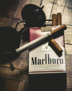 """I picked this picture because this is what Pike used to burn down the store """"So i used a Marlboro, just like fat bill smokes. Cigarette Men, Marlboro Cigarette, Smoke Photography, White Photography, Creative Photography, Aesthetic Grunge, Aesthetic Girl, Smoking Cigarettes Photography, Cigarette Drawing"""
