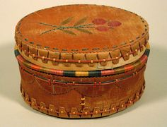 Birch Bark Baskets - Flora Charles