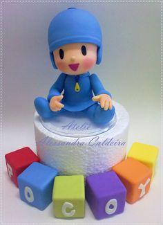 Ateliê Alessandra Caldeira: Topo de bolo: Personagens