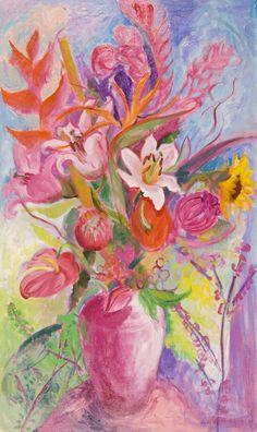 Judi Rotenberg-Hawaiian Flowers-2008-2009.jpg (500×840)