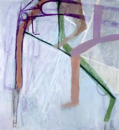 Amy Sillman, 'Nut,' 2011. Oil on canvas. 91 x 84 inches