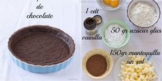 Todas las indicaciones las apuntan desde el blog COCINA CON ANGI. Empanadas, Cacao, Chocolate Lovers, Mousse, Muffin, Food And Drink, Pudding, Yummy Food, Breakfast