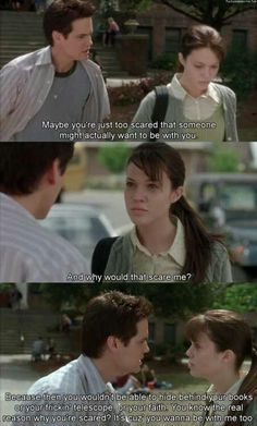 A Walk To Remember <3. I rarely cry when it comes to movies but this had me bawling my eyes out.
