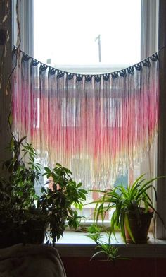 SlowDown Productions: Macrame Window hanging I get quite a few emails from people asking...