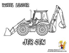 Printable Construction machines | Free Construction Coloring Pages | Construction | Excavator Coloring ...