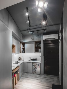 From having invisible cabinets to showcasing smart furniture picks this tiny home inspires us to declutter and revamp our own space Studio Apartment Furniture, Small Studio Apartment Design, Studio Condo, Tiny Studio Apartments, Condo Interior Design, Small Space Interior Design, Condo Design, Studio Room, Studio Type Condo Ideas Small Spaces
