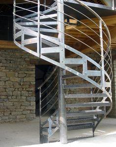 1000 images about escalier ext rieur on pinterest - Escalier metal occasion ...