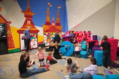 Kids, staff and parents play in the 'Ballets Russes' Family Activity Room Creative Activities, Family Activities, Activity Room, Babys, Parents, Ballet, Play, Kids, Babies