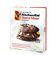 Our Favorite Recipes | KitchenAid® Stand Mixer Cookbook available at @Boston Store.