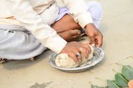 One of these mandatory rituals is the Pind Daan. Along with Asthi Visarjan or the immersion of the dearly departed's ashen remains in the holy waters of the sacred Ganges River in Varanasi in northern India, Pind Daan is also a ritual performed for the departed soul.