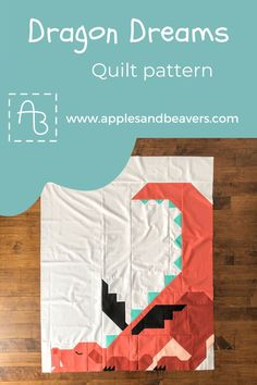 Modern Quilt Patterns, Pdf Patterns, Print Patterns, Kid Quilts, Baby Quilts, Valentines Puns, Dragon Dreaming, Beavers, Quilting Tutorials